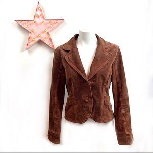 LIVE A LITTLE*Washable Suede Leather Jckt San Fran